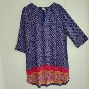 Faded Glory Tunic Dress Size XXL